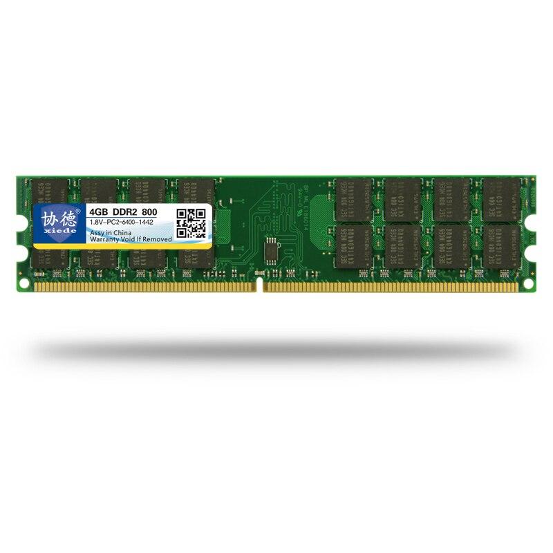 Xiede DDR2 800 / PC2 6400 5300 4200 1GB 2GB 4GB Memoria RAM para PC - Componentes informáticos - foto 2
