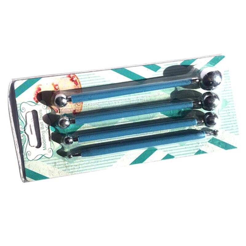 4Pcs Cvjetni plijesni Playdough alati Polymer Clay Polyform Sculpey - Obrazovanje i osposobljavanje - Foto 4
