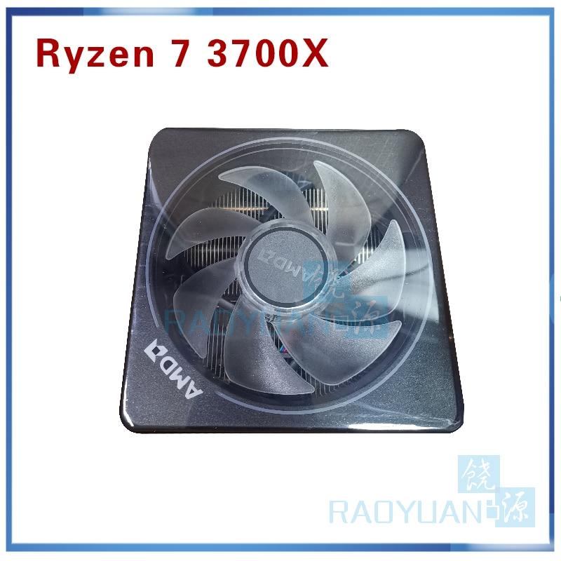 Image 5 - AMD Ryzen 7 3700X R7 3700X 3.6 GHz 7NM L3=32M 100 000000071 8 Core 16 Thread CPU Processor Socket AM4 with cooler cooling fanCPUs   -
