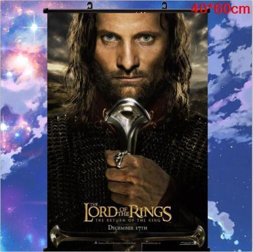 THE LORD OF THE RINGS Art Print Japan Anime Poster Wall Scroll 60x80cm
