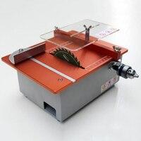 알루미늄 마이크로 테이블 톱 diy 미니 커터 아크릴 나무 pcb 커팅 머신