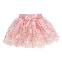 Детские летние кружевные фатиновые юбки-пачки для малышей пышная многослойная юбка-пачка бальное платье, модная детская юбка вечерние юбки принцессы для танцев для девочек