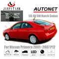 Cámara de visión trasera JiaYiTian para Nissan Primera P12 2001 ~ 2007 CCD/visión nocturna/cámara de respaldo placa de matrícula Cámara cámara de marcha atrás
