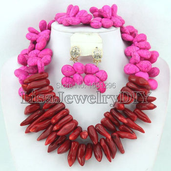 African 2017 Beads Jewelry Set African Beads Jewelry Sets Free Shipping       HD1120