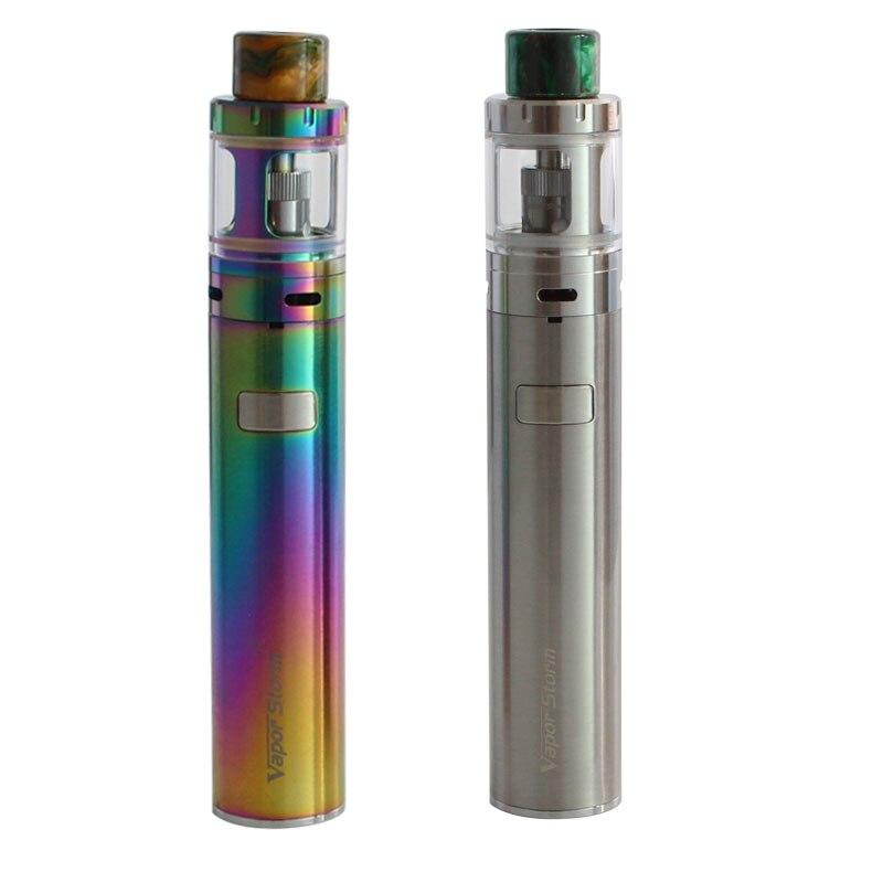 2pcs/lot Vapor Storm Original Electronic Cigarette Mars 0.3ohm Top E-juice Refill Tank e-cigarettes 2600mah Battery Vaporizer