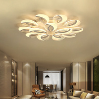 Modern Ceiling Lights LED Plafon For Living Dining Room Kitchen Fixtures Decor Indoor Home Lamp Dimmable Lighting Deckenlampe