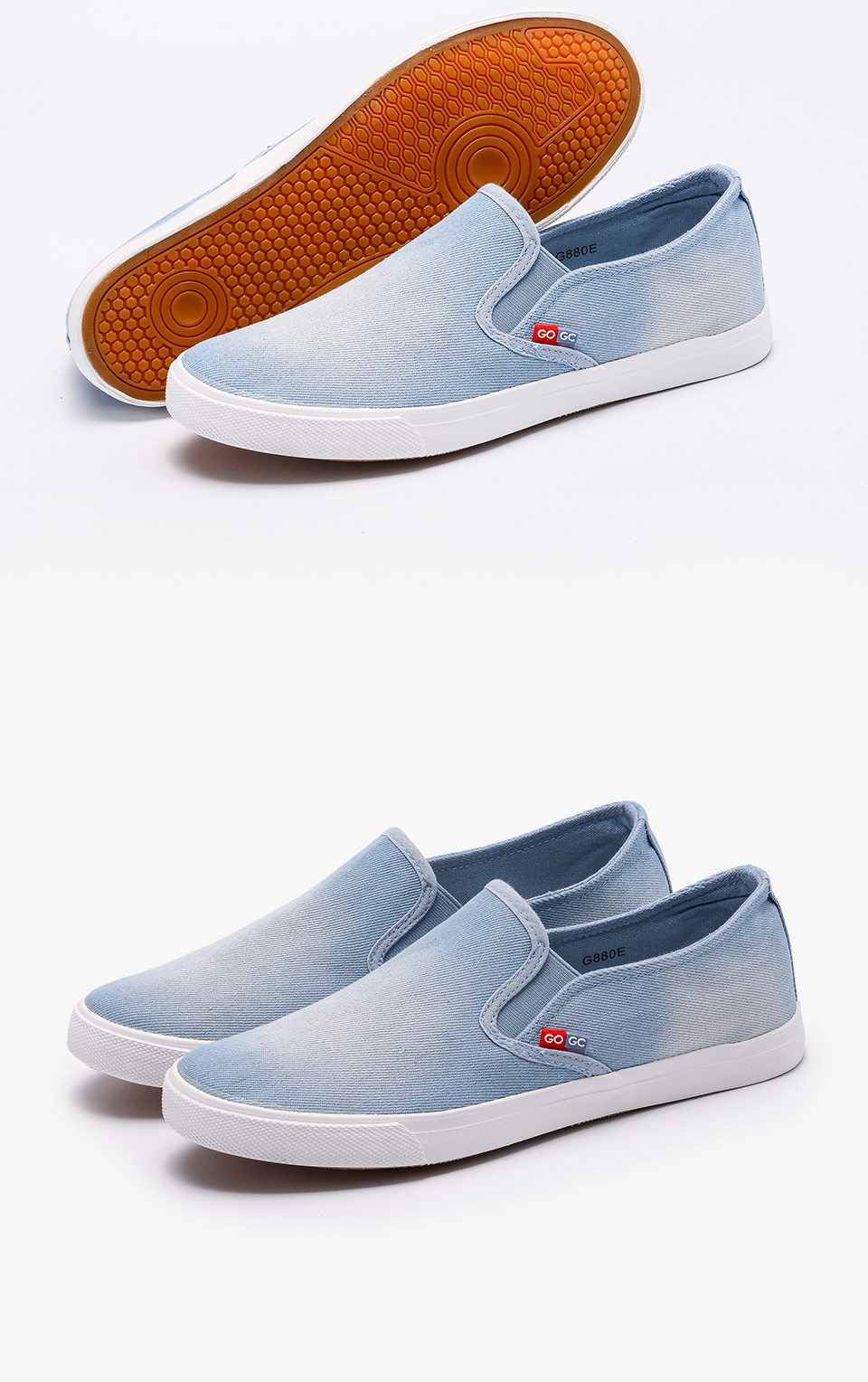 f4916cda7f5e4 GOGC 2017 New Arrival Slipony Men Fashion Men Sneakers Flats Casual Shoes  Denim Canvas Shoes Nice Comfortable Men Shoes Loafers