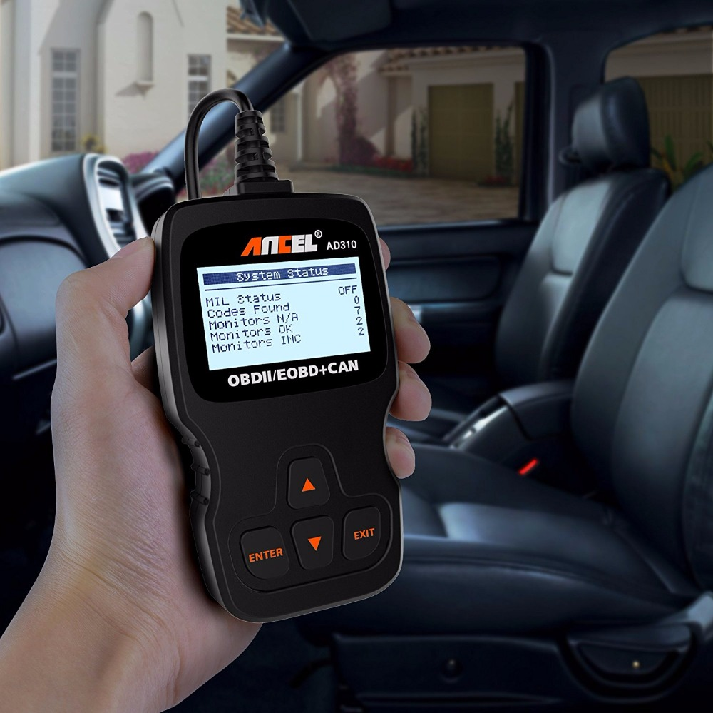 2017 Car Diagnostic Scanner Universal AD310 OBD OBD2 diagnosis for Russian cars em Portuguese Escaner Auto Diagnostic Tool