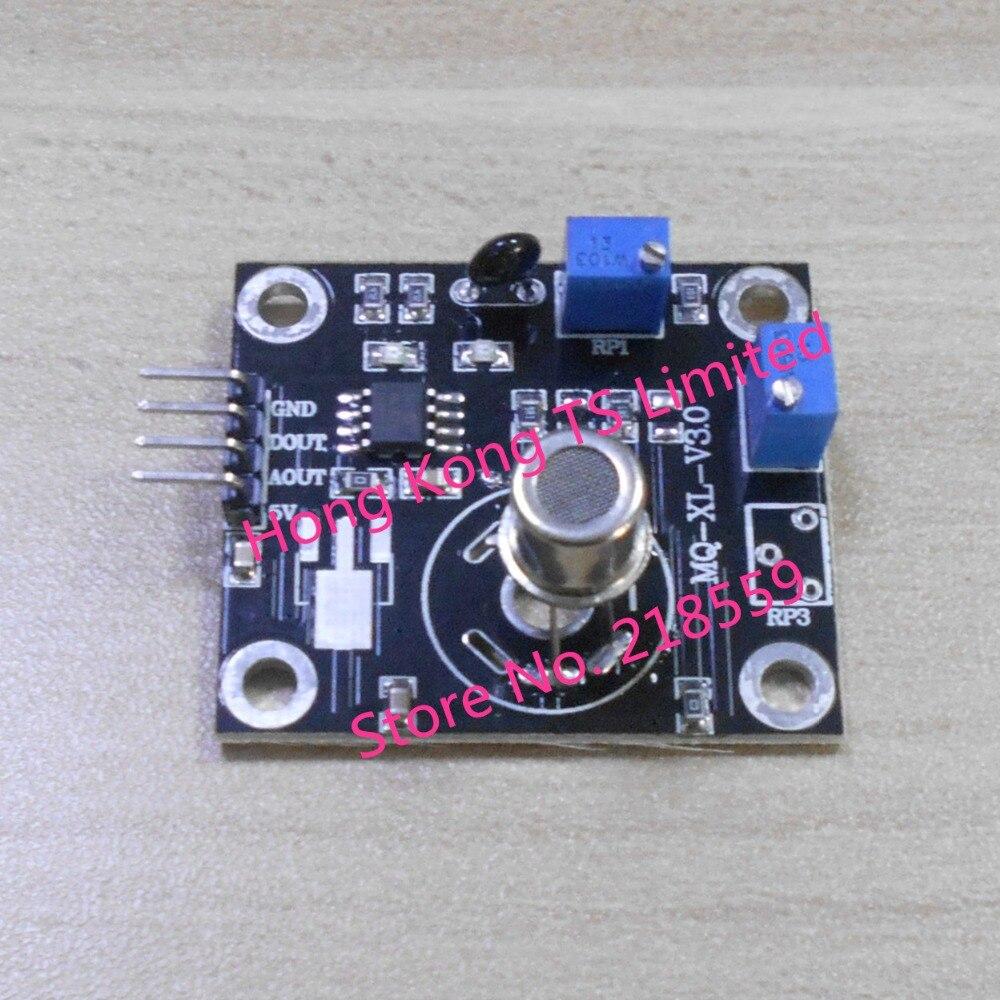 VOC gas sensor detectie module tolueen formaldehyde benzeen en andere organische schadelijke gassen WSP2110 hoge gevoeligheid-in Vervangende onderdelen en toebehoren van Consumentenelektronica op  Groep 1