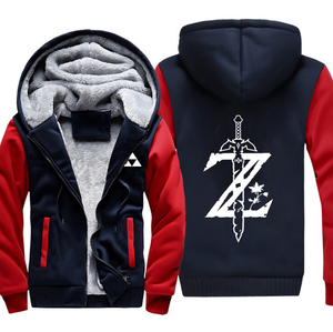 Image 2 - Yeni Varış Hoodie Ceket efsanesi Zelda Nefes Vahşi LOGO Kapşonlu Hoodie Rahat Hırka Hoodies & Tişörtü ceket