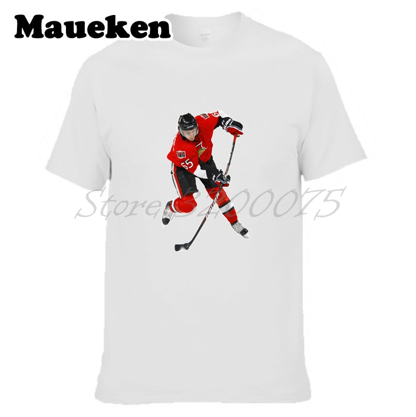 best website a8e87 cea0e US $18.88 |Men T shirt Sweden Erik Karlsson 65 City Clothes T Shirt Men's  tshirt for Ottawa fans gift o neck tee W17102602-in T-Shirts from Men's ...