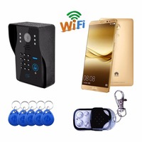 Wifi Wireless Video Door Phone Doorbell Support 3G 4G IOS Android For IPad Smart Phone