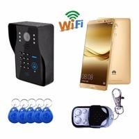Wifi Wireless Video Door Phone Doorbell Support 3G 4G IOS Android For IPad Smart Phone