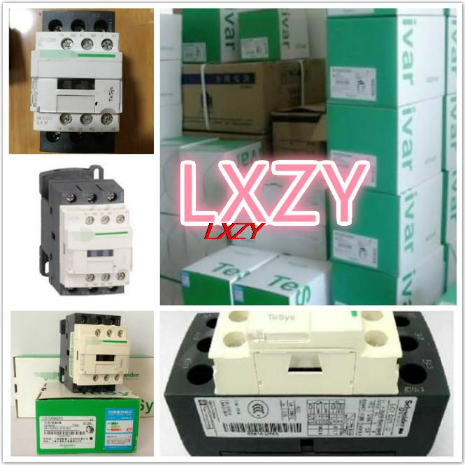 Stock 1pcs/lot New and origian facotry Imported DC contactors LC1D123BD LC1-D123BD dc contactor lc1d09kd lc1 d09kd 100vdc lc1d09ld lc1 d09ld 200vdc lc1d09md lc1 d09md 220vdc lc1d09nd lc1 d09nd 60vdc