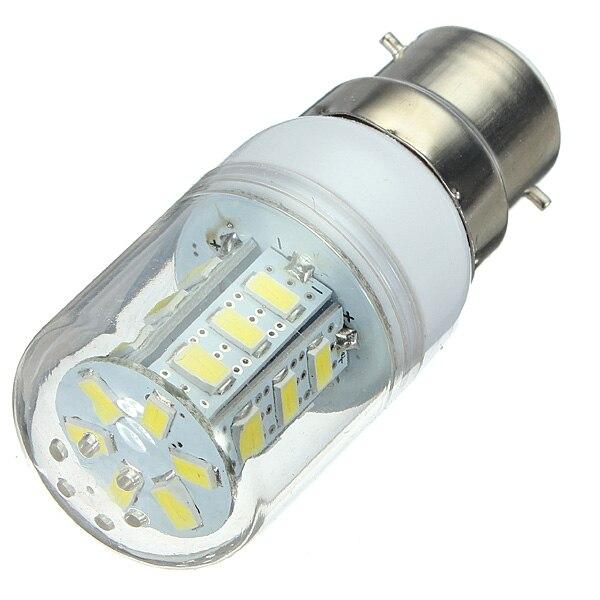 10 X B22 3 W 200lm 3000 K-6000 K 24 de Milho 5730SMD LEVOU Luz Branca ou Branco Quente lâmpada Lâmpada Lâmpada de 360 graus (AC 220-240 V)