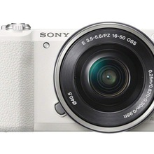 Used,Sony A5100 16-50mm Mirrorless Digital Camera with 3-Inch Flip Up LCD