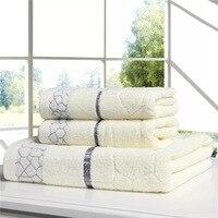 LFH 3 Piece Set Of Premium Bath Beach Pool Towels Cotton 5 Star Hotel Spa Towels