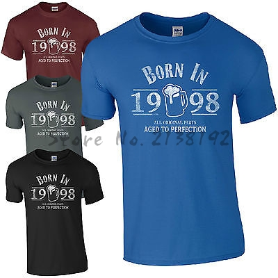 Born In 1998 T Shirt