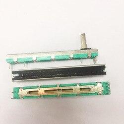 10 pces misturador fader d10k folio-4 misturador 10 k duplo potenciômetro d10k