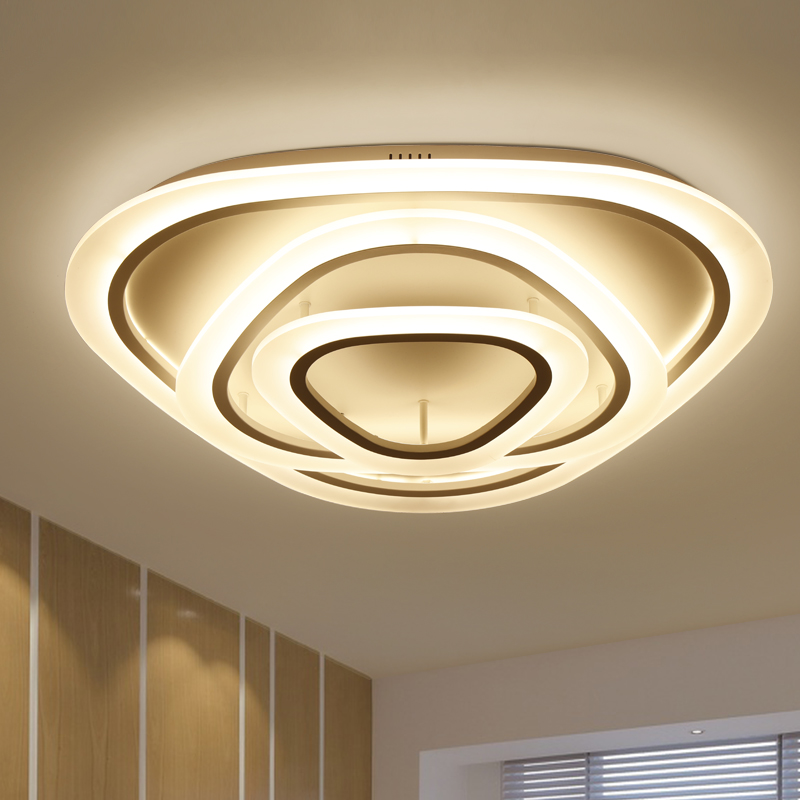 New design LED Ceiling Light For Living room Dining Bedroom luminaria led Lamparas De Techo Lustres Led Lights For Home Lighting creating home design for living