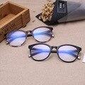 La más nueva Manera Retra 100% Luz Acogedoras Hombres Mujeres Anteojos Ópticos TR90 Gafas de Marco Ordenador Gafas Capítulo de Espectáculo _ SH546