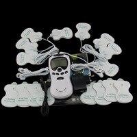 Cuidados saudável Corpo Massageador Elétrico Pulso Relaxar Massageador Com 16 Almofadas de Terapia Meridiano Digitais