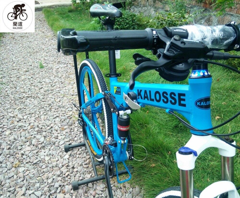 Kalosse Faltbare legierung rahmen Weichen schwanz mountainbike ...