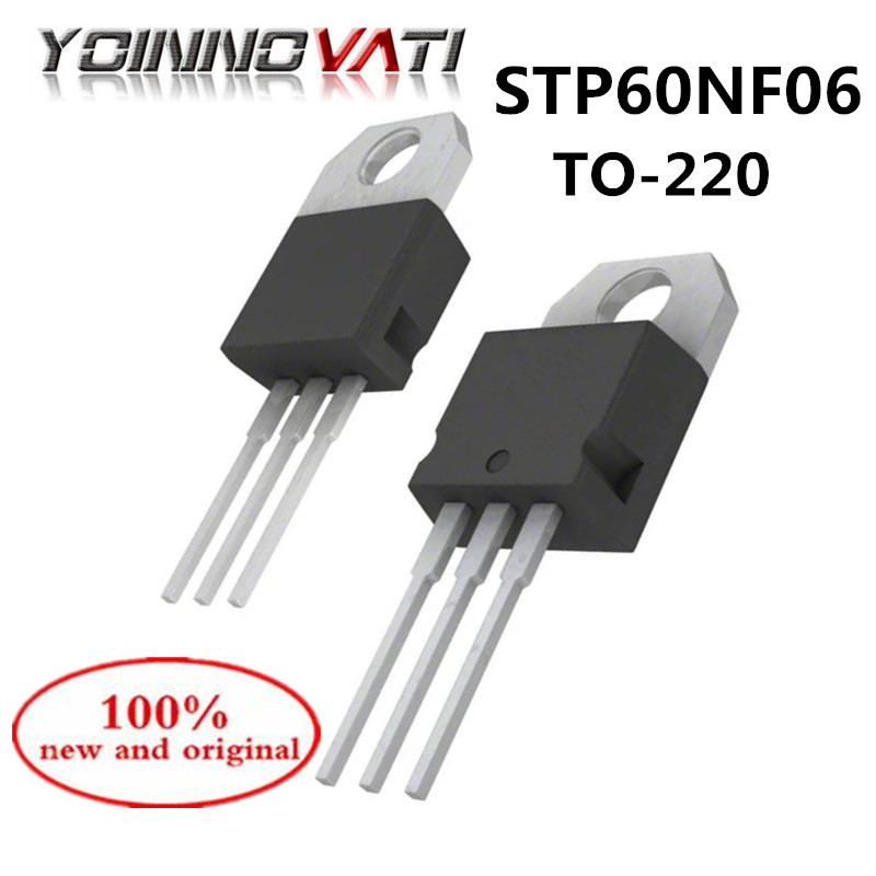 10pcs STP60NF06 P60NF06 MOSFET TO-220
