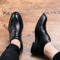 ROMMEDAL pointed toe leather oxfords formal shoes Luxury Designer wedding business elegant British style footwear Wear Resistant