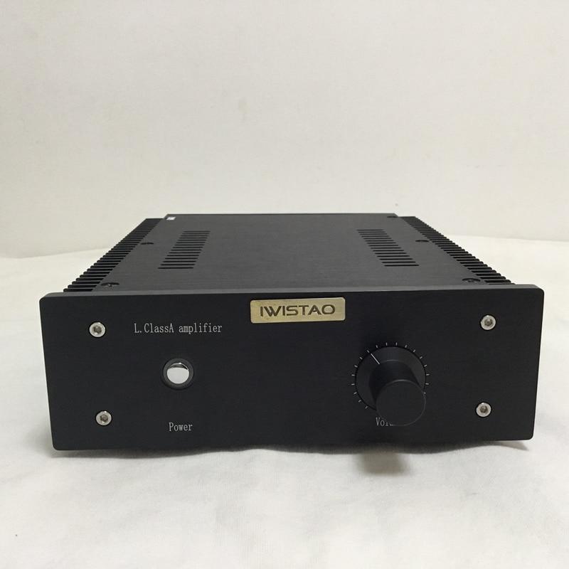 IWISTAO HIFI Power font b Amplifier b font 2 x16W Class A FET Single ended PassAm