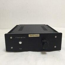 IWISTAO HIFI Power Amplifier 2 x16W Class A FET Single-ended PassAm Whole Aluminum Casing Desktop High Quality