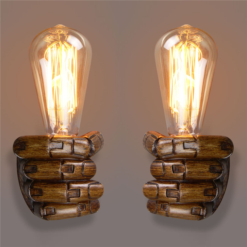 Super Deal 534b0 Vintage Right Left Hand Night Wall Light Lamp