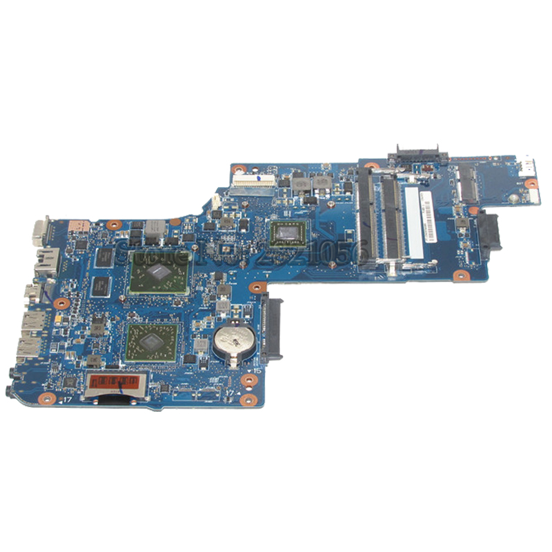 NOKOTION Laptop Motherboard For Toshiba Satellite C850D C855D L850D L855D H000051830 CPU E2-1800 Main board цена