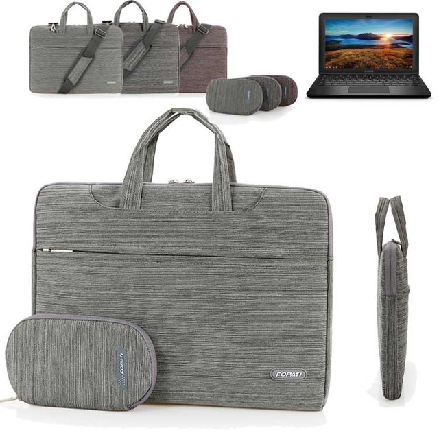 US $16 72 24% OFF|11 6'' 14'' Laptop Shoulder Bag, Suit Portable Carry Case  Messenger Sleeve Handbag for HP Chromebook 11/ 14 inch Notebook-in Laptop