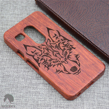 Real Original Wood Case For LG Nexus 5X Case with Fashion Luxury Follower Embossed Pattern wooden Cover For Goole Nexus 5X