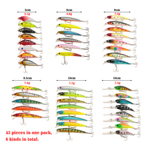 43-Pack Jerkbait Lure Set
