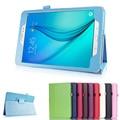 Для Samsung Galaxy Tab A 8.0 T350 T355 T351 Case Личи Стиль Кожа PU Стенд Case For Samsung Galaxy Tab A Tablet Откидная Крышка