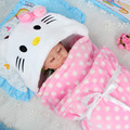 2017 new design Soft Baby Blanket Baby Towels Animal Shape Hooded Towel Lovely Baby Bath Towel High Quality Baby Hooded Bathrobe