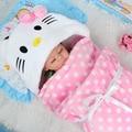 2017 nuevo diseño Suave Del Bebé Manta de Bebé Toallas de Forma Animal Bebé Con Capucha Toalla con capucha Bebé Toalla de Baño Encantador de Alta Calidad albornoz