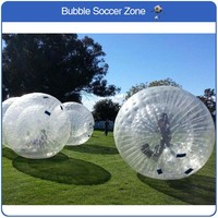 Free Shipping 2.5m PVC Inflatable Zorb Ball For Bowling Outdoor Human Bowling Sport Inflatable Body Zorb Ball