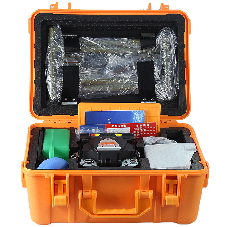 Image 5 - A 80S Orange Automatic Fusion Splicer Machine Fiber Optic Fusion Splicer Fiber Optic Splicing Machineoptic splicing machinesplicing machinefiber optic splicing machine - AliExpress