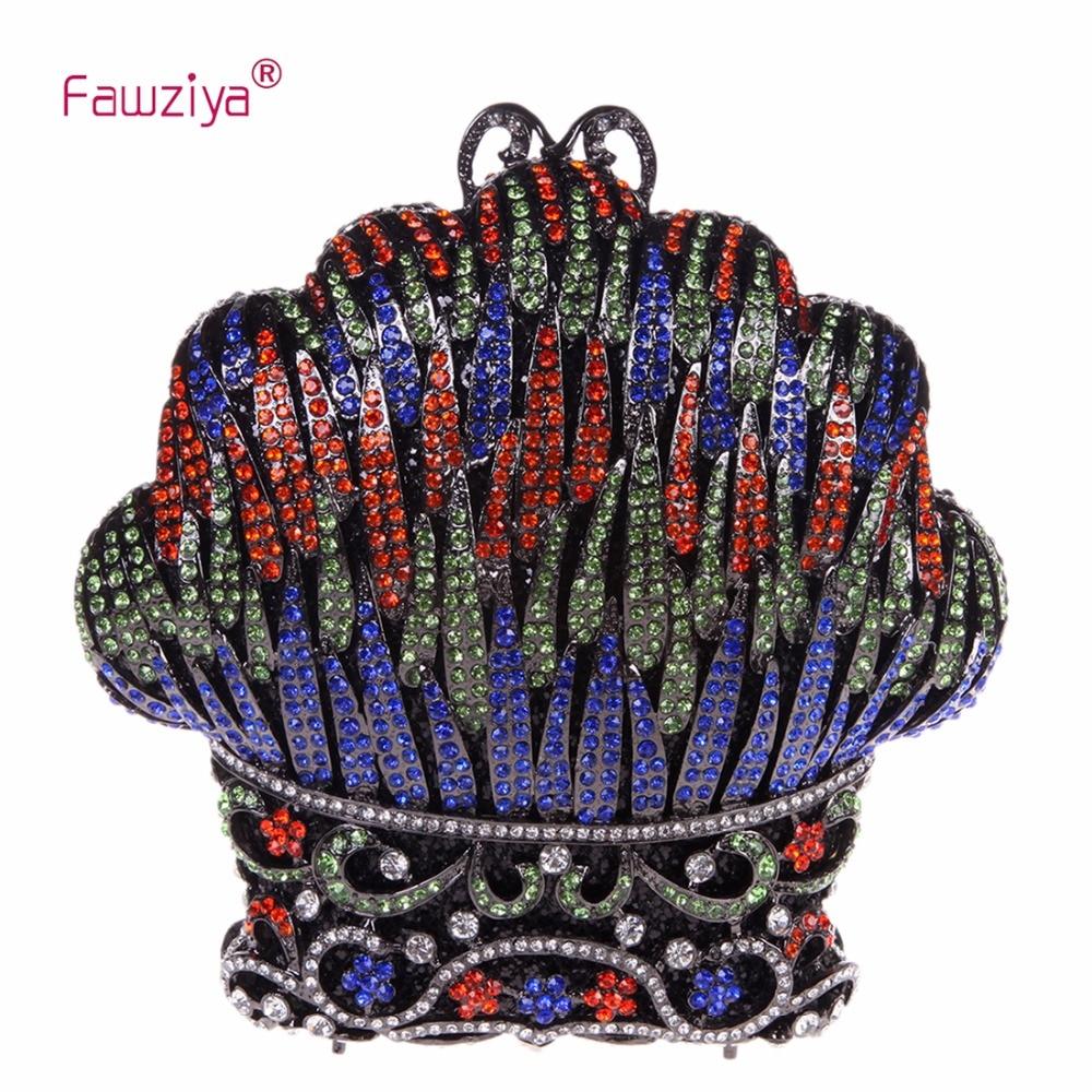 Fawziya Imitation Designer Bags Rhinestone Kiss Shell Clutch Bags For Womens Purses And Handbags fawziya bag rhinestone 15cm luxury natural stone purses and handbags for womens bags