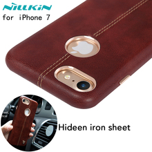 Nillkin Englon PU Leather back Cover Case Vintage lether PC case for iphone 7 case cover