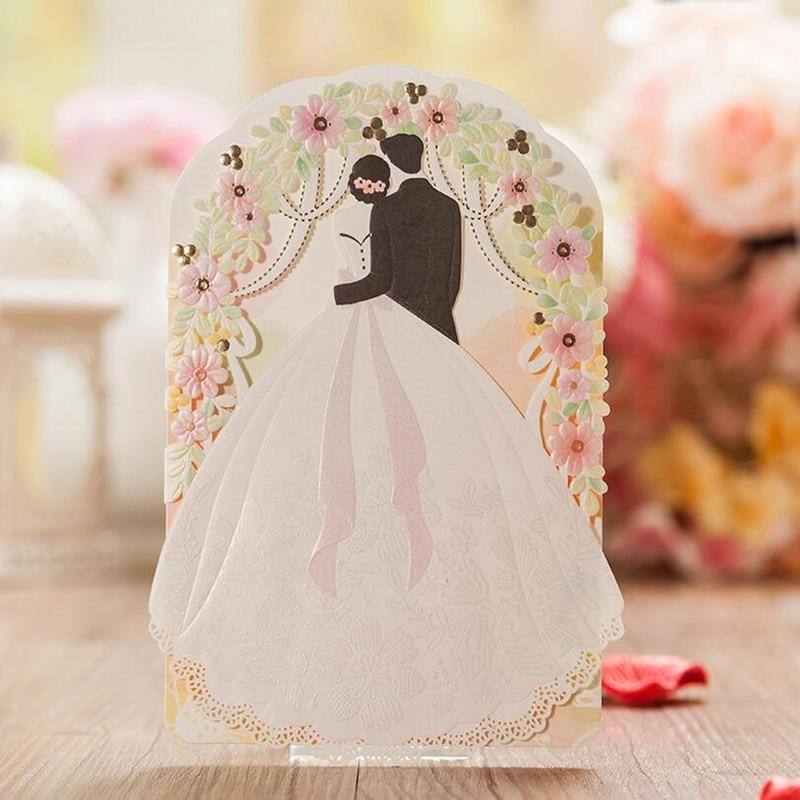 Custom Wedding Invitation Paper Cards,Personalized Wedding ...