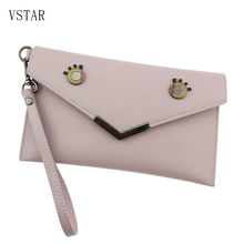 цена на 2019 Vintage Hollow Out Envelope Bag Small Women Pu Leather Crossbody bag For girl Shoulder Messenger bag Clutch Handbag Purses