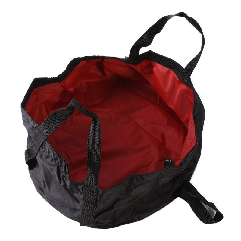 Outdoor Survival Folding Camping Basin Survival Camping Equipment Travel Kit Ultra-light Portable 7-8.5L River Trekking Bags