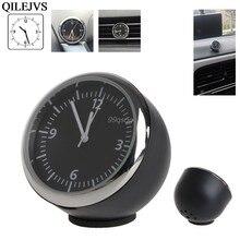 755257d6045 Novo Carro de Alta Qualidade Mecânica Relógio Mini Relógio de Quartzo  Ponteiro Digital para Decoração Auto Suprimentos Drop Ship.