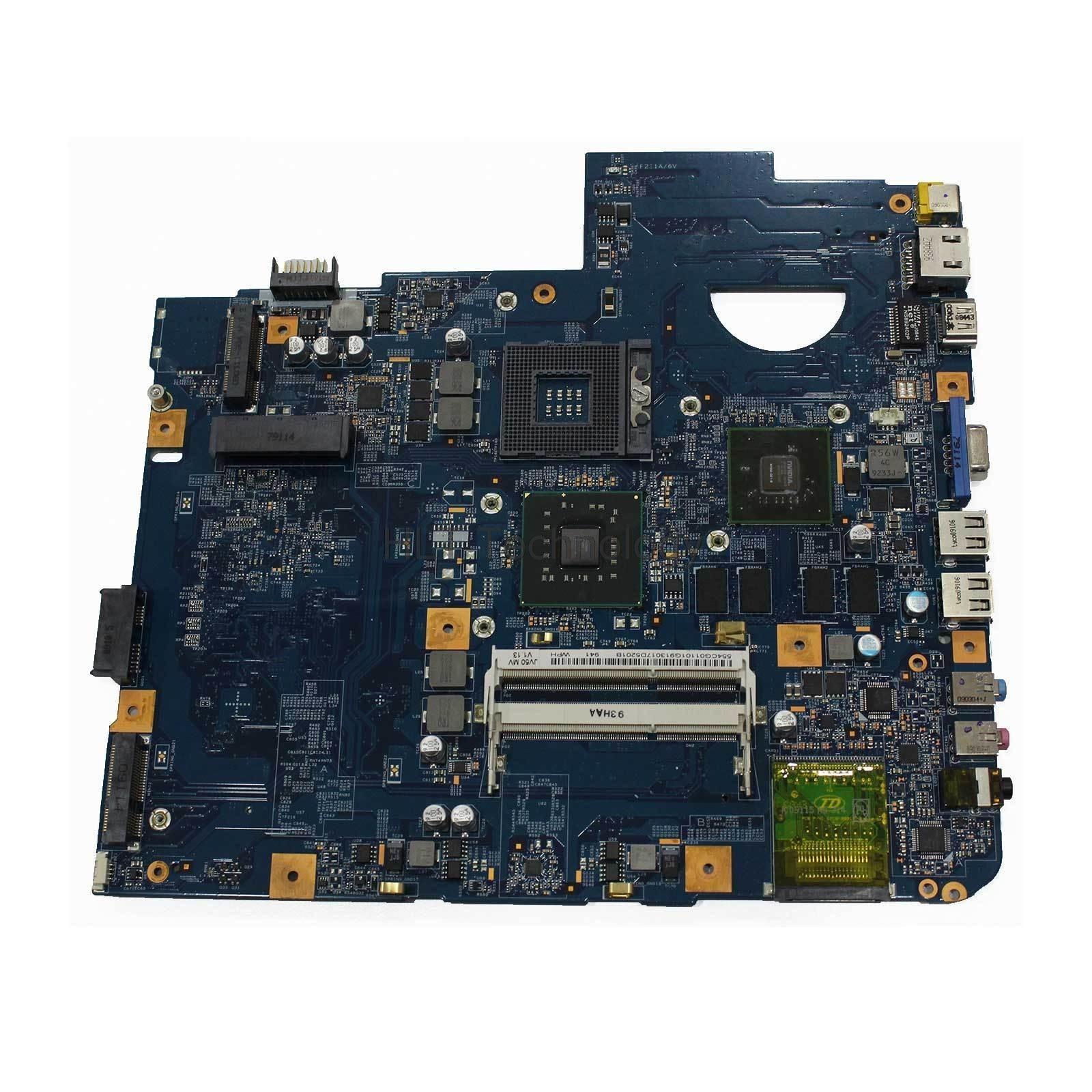HOLYTIME carte mère d'ordinateur portable pour ACER ASPIRE 5738 5338 JV50-MV 08245-1 48.4CG01.011 MBP5601007 MB. P5601.007 DDR3 PM45 testé ok