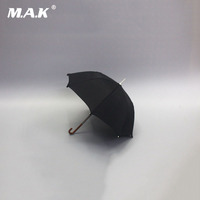 for collections 1/6 scale black umbrella model about 17cm ZY3003 fit 12 male military soldier action figure