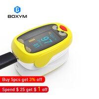 BOXYM Rechargeable Child Finger Pulse Oximeter SpO2 Blood Oxygen PR Saturation Meter Pediatric baby Neonatal Infant kids